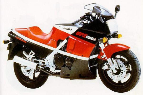 Powerbronze Verkleidungsscheibe Standard Form KAWASAKI GPZ 600 R