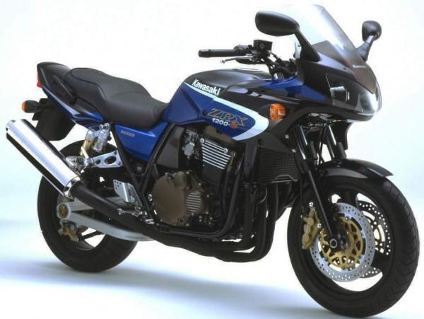 Powerbronze Verkleidungsscheibe Standard Form KAWASAKI ZRX 1200 S