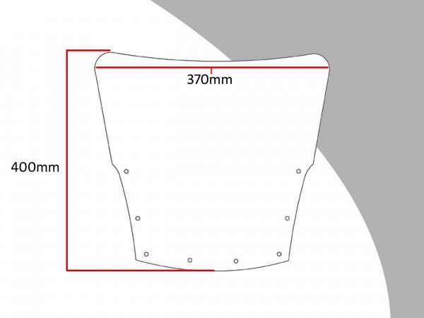 Powerbronze Verkleidungsscheibe Spoiler / Tourenform KAWASAKI GPZ 1000 R