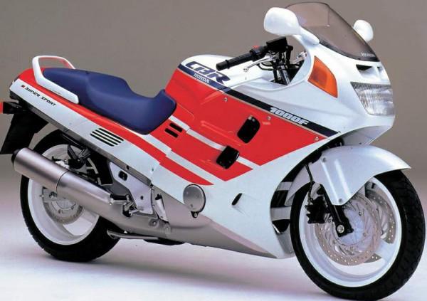 Powerbronze Verkleidungsscheibe Standard Form HONDA CBR 1000 F