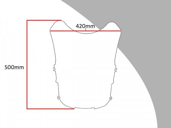 Powerbronze Verkleidungsscheibe Spoiler / Tourenform HONDA NT 650 V DEAUVILLE