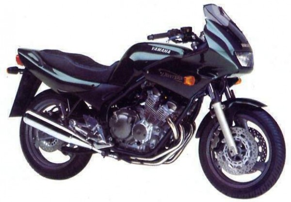 Powerbronze Verkleidungsscheibe Standard Form YAMAHA XJ600S DIVERSION