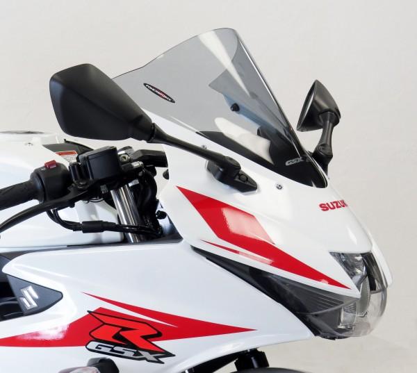 Powerbronze Airflow Racingscheibe (Double- Bubble) SUZUKI GSX-R 125