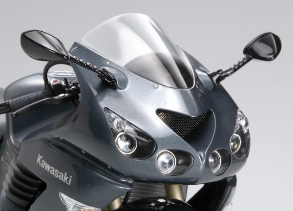 Powerbronze Verkleidungsscheibe Standard Form KAWASAKI ZZR 1400