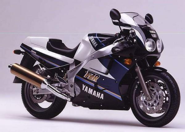 Powerbronze Verkleidungsscheibe Standard Form YAMAHA FZR 600 R