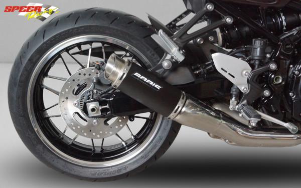 BODIS Slip-on Endschalldämpfer MGP-N Kawasaki Z 900 RS 2018+ Edelstahl schwarz 200mm