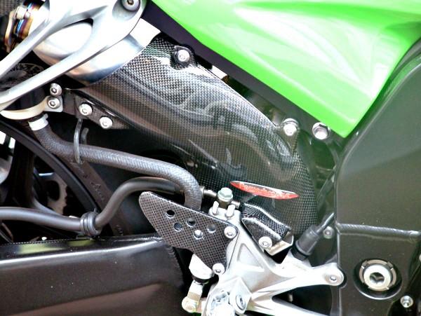 Powerbronze Hitzeschutzschild Carbon KAWASAKI ZX-10 R