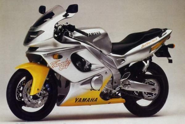 Powerbronze Verkleidungsscheibe Standard Form YAMAHA YZF600R THUNDERCAT