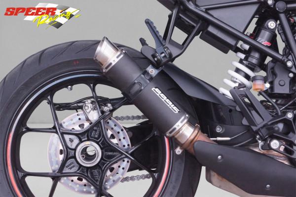 BODIS Slip-On Endschalldämpfer GP1-RSN KTM 1290 Super Duke R / GT kurz