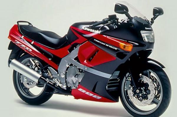 Powerbronze Verkleidungsscheibe Standard Form KAWASAKI ZZR 600 D1-D3