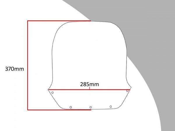 Powerbronze Verkleidungsscheibe Spoiler / Tourenform SUZUKI GSX 1100 ESD