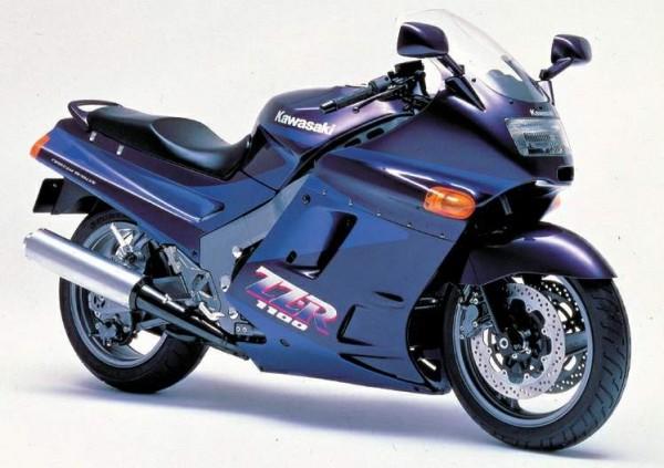 Powerbronze Verkleidungsscheibe Standard Form KAWASAKI ZZR 1100 C1-3