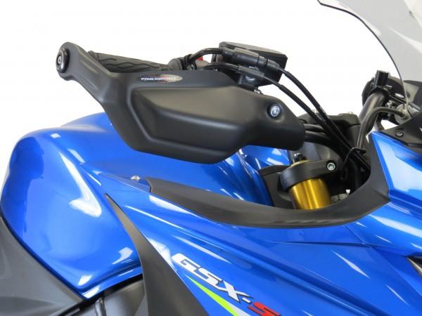 Handprotektoren SUZUKI GSX-S1000F 15-21 matt schwarz
