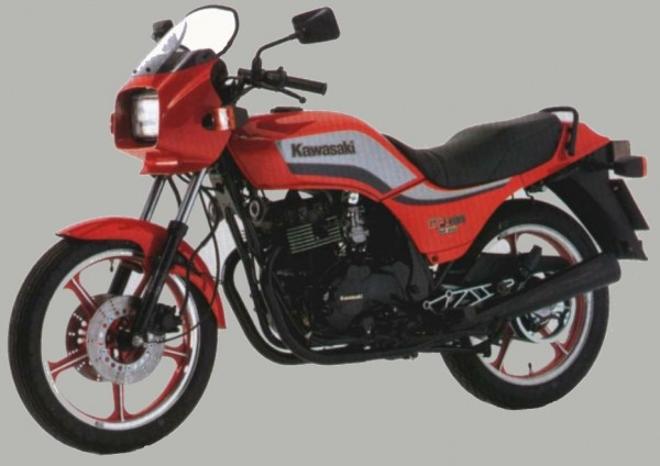 Powerbronze Verkleidungsscheibe Standard Form KAWASAKI GPZ 305
