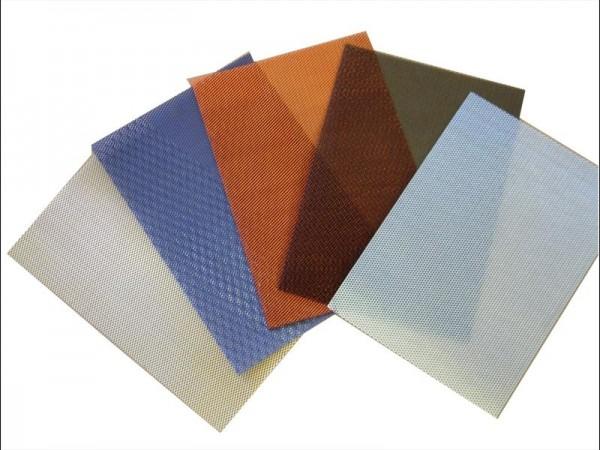 Powerbronze Metallgewebematte farbig