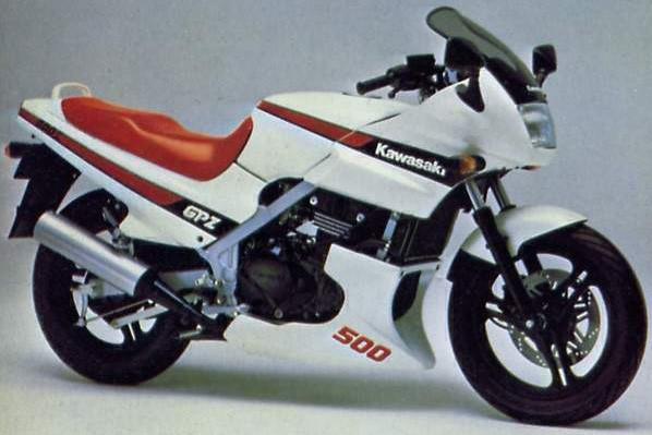 Powerbronze Verkleidungsscheibe Standard Form KAWASAKI GPZ 500 S