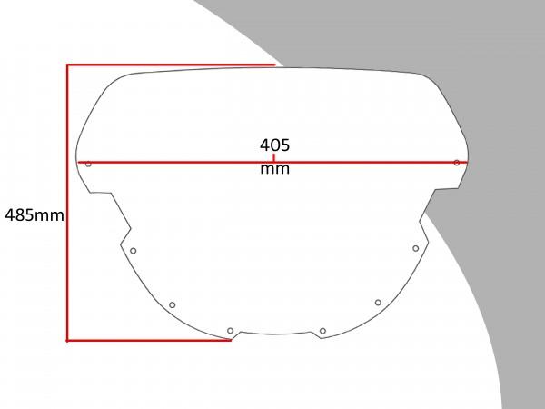 Powerbronze Verkleidungsscheibe Spoiler / Tourenform SUZUKI GSX-R 750 M